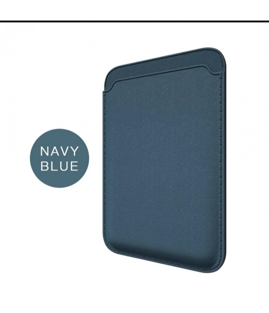 Capa iPhone Wallet Azul