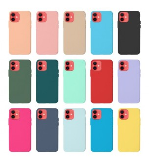 Capa silicone Silky Iphone...