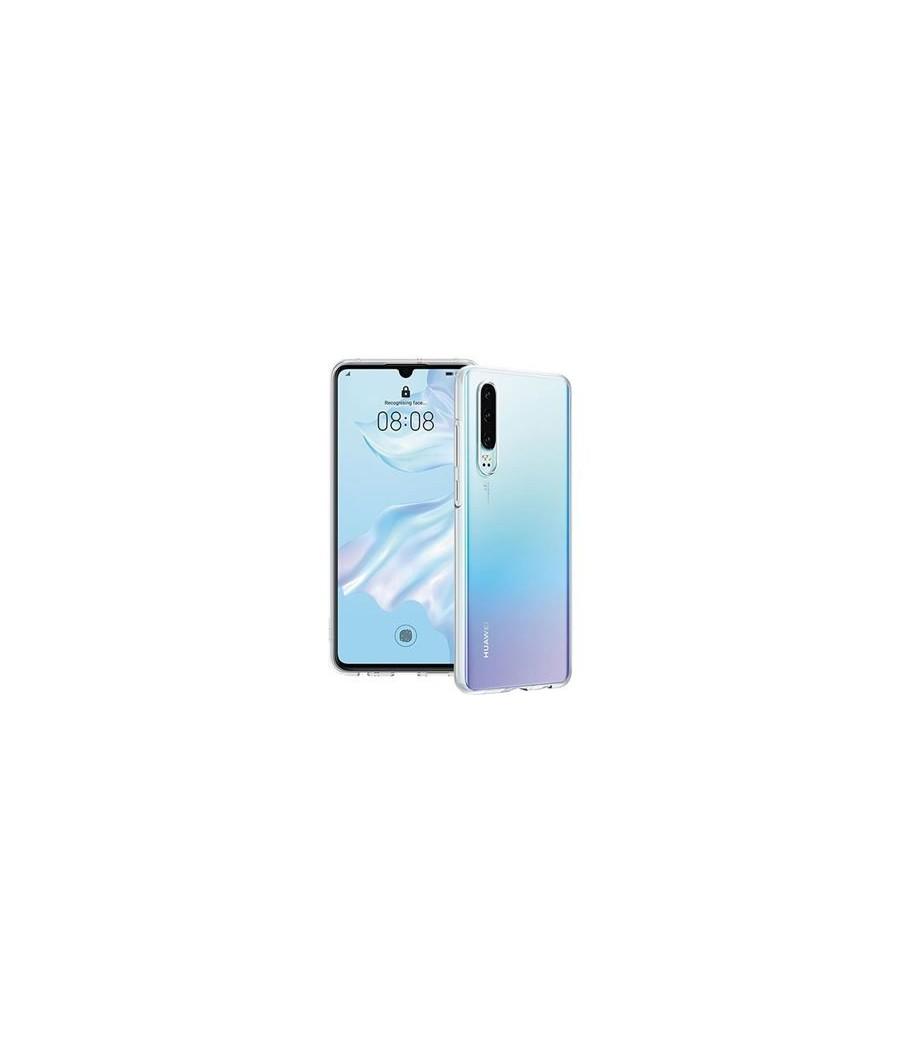 Capa silicone Huawei P30 Clear
