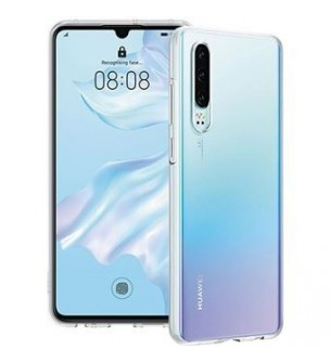Capa silicone Huawei P30 Clear