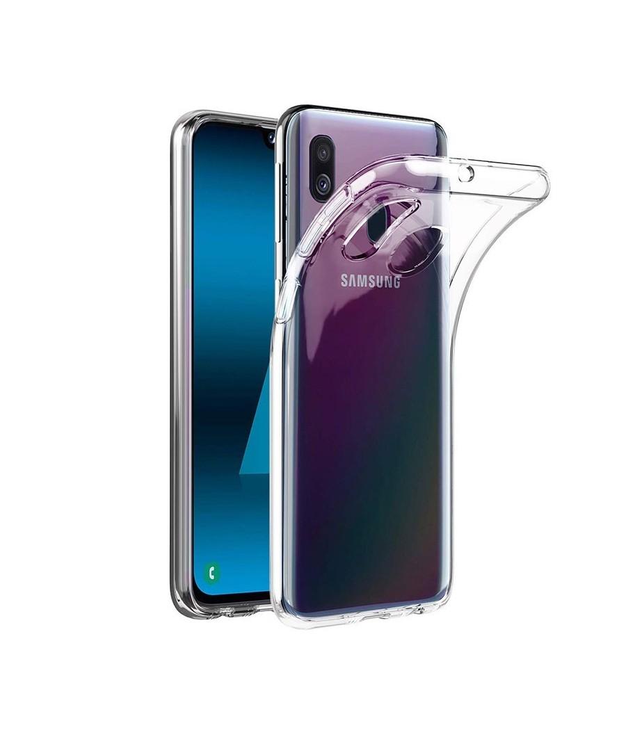 Capa Silicone Samsung A40...